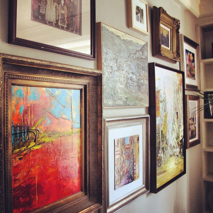 Dallas Art, Gallery Wall, Framed Art Wall