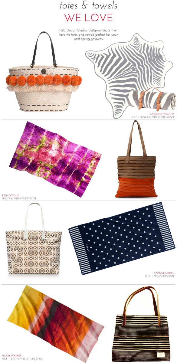 Modern Beach Towels, Exotic Beach Towels, Stylish Beach Towels, Beach Style, Tory Burch Norah Beachy Tote, Maslin & Co. Zebra Hide Beach Towel, Collina Strata Toto Bag, Natori Aurora Violet Beach Towel, Tory Burch Kelsey Tote, Lands' End Dot Beach Towel, Black Fulani Tote, Target Tweed Beach Towel