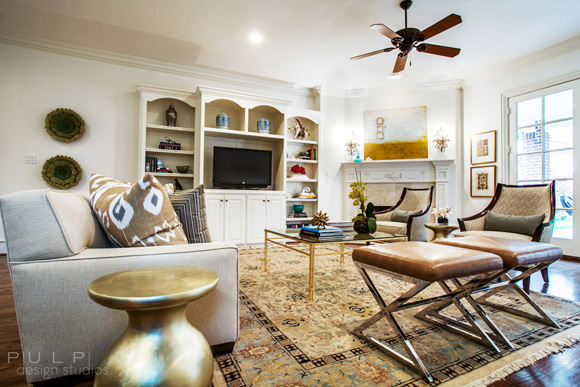 Eclectic Functional Space: Sophisticated Comfort from Pulp Design