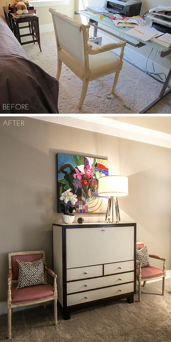 Pulp Design Studios Ponder Modern Secretary Before and After