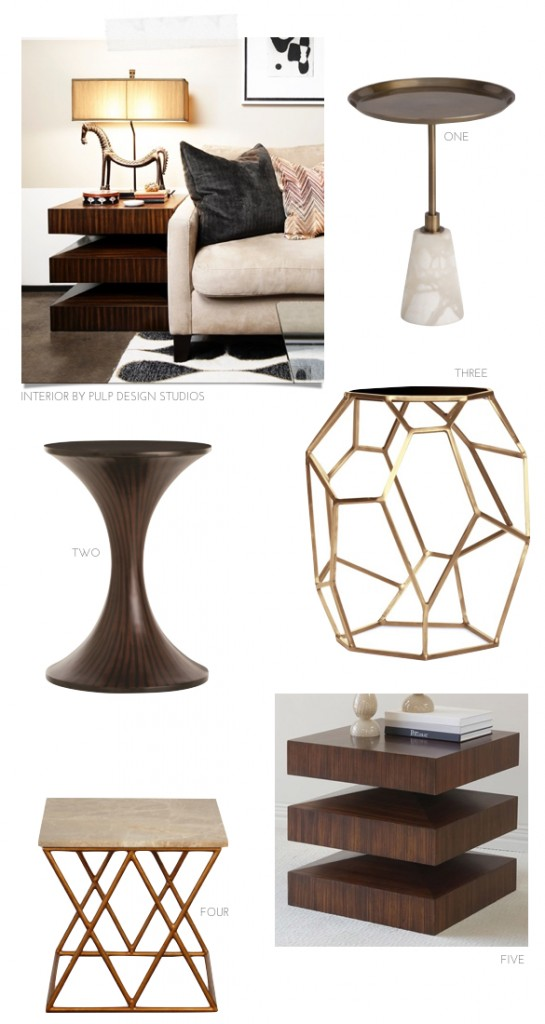 Top 5 Accent Tables