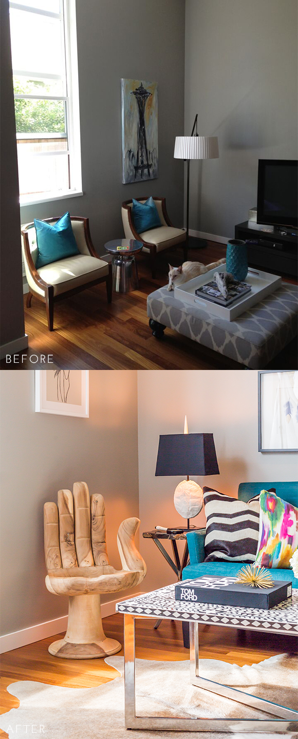 Before and After - Living Room2