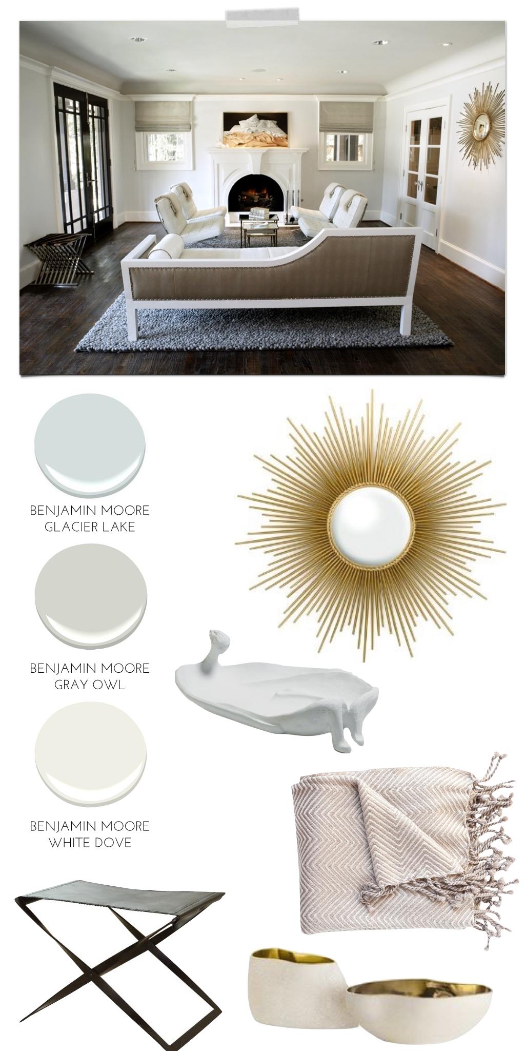 Pulp sourcebook modern craftsman living room pulp for Modern craftsman interior design